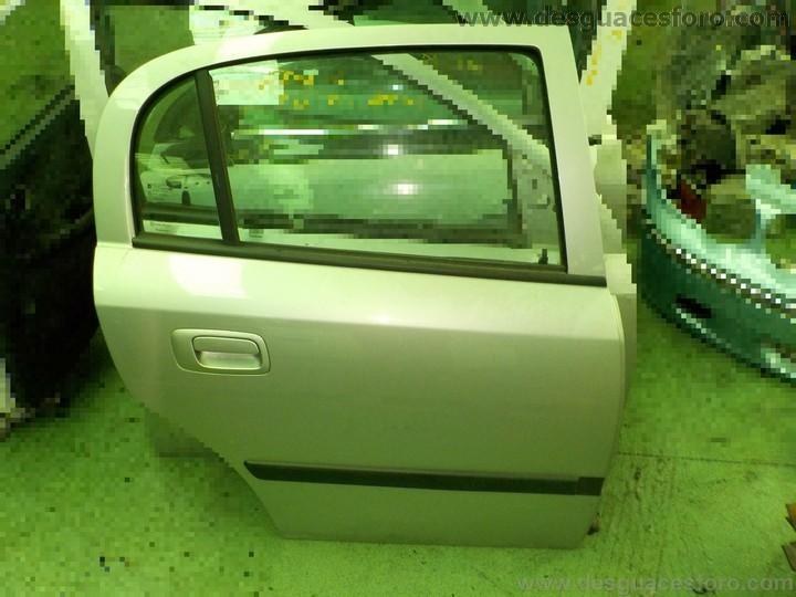 Puerta trasera derecha opel astra g 5 puertas plata hierros foro desguace venta y baja de - Opel astra 5 puertas ...