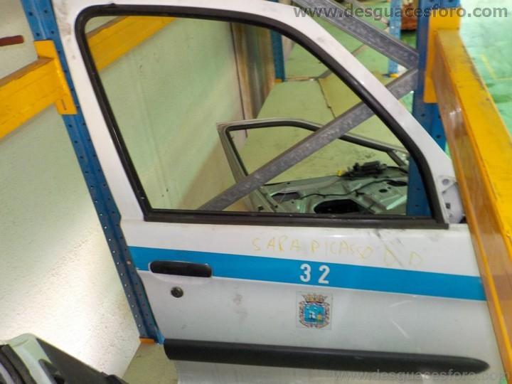 Puerta delantera derecha citro n xsara picasso blanco for Puerta xsara picasso